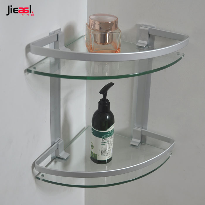 Estantes De Aluminio Para Baño:Bath Shower Caddy Corner Shelf Storage Organizer