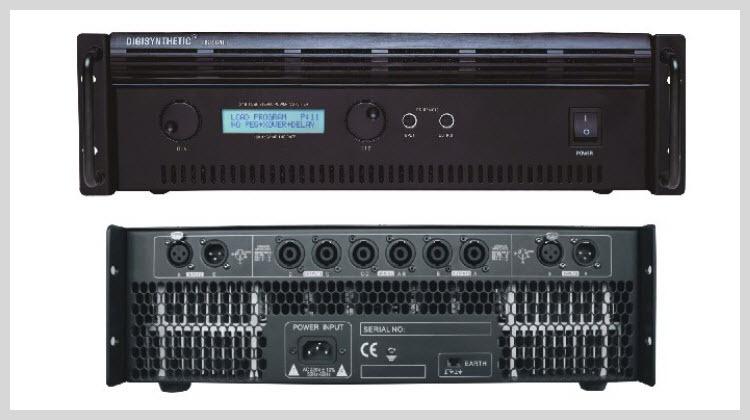Professional speaker modeling amp amplifier power amplifier KTV meeting DSP1800 2X650W 8(China (Mainland))