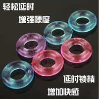 Sex adult supplies sex products men's lock ring fine delay ring crystal set accrescent coarse