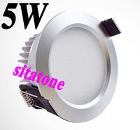 10 PCS / lot FEDEX free shipping sale 5W led  down light,,AC85-265V,SMD5730 5W led ceiling light 3 years warranty