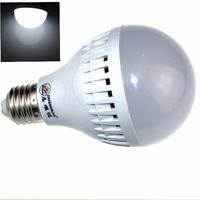 ZHISHUNJIA E27 9W 760LM 6000K 30-SMD 2835 LED White Light Bulb (AC 85~265V)