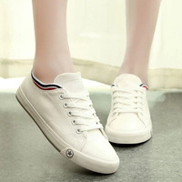 big size 35-43 women fashion sneakers women flats canvas flat shoes drop shipping summer shoes women