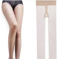 China Famous Brand LangSha Women's 17F Fashion Popular Double Core-Spun T Ctotch Pantyhose Carnation