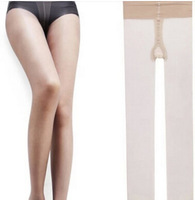 China Famous Brand LangSha Women's 17F Fashion Popular Double Core-Spun T Ctotch Pantyhose Carnation