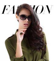 The new 2014 sunglasses ladies fashion trend in gradient polarizer uv protection sunglasses can match myopia