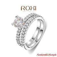 2014/Quality Goods/Wedding rings/women ring/CZ diamond/Shining zircon/ tail ring/Micro-inserts/Freeshipping/101049654b
