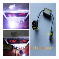 50pcs BA9S-T10 W5W 194 Error Free Load Resistor Wiring LED Decoder Warning Flashing Canceller Adapter For European Car Lights