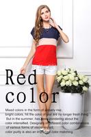HOT sale The new Fresh mixed colors loose chiffon short-sleeved blouses Bat sleeve shirts free shipping