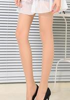 China Famous Brand LangSha All Matching Women's Beautiful Princess Tiptoe Transparent Stockings Carnation/Black