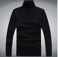 HOT Wholesale Hight Quality Brand New 2014 Autumn mens pullovers sweater turleneck male Fashion Casual sweaters 7 Colour