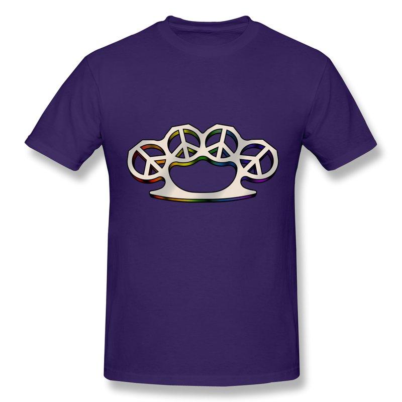 2014 new summer Slim Fit Boy T Shirt PEACE WEAPON Funny Symbols T Shirts Men's(China (Mainland))