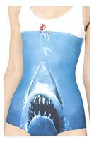 2014 New Fashion Women's Swimsuit Sky Digital Printing Swimsuit Bikini The shark Lady Sex Swimming