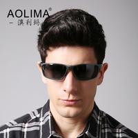 Full frame aluminum magnesium sunglasses men sport hipster glasses polarizer driver driving glasses lens sunglasses