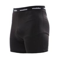 New 2014 High Quality Black Color VEOBIKE Bike shorts men cycling underwear bicycle riding short M-3XL #5543