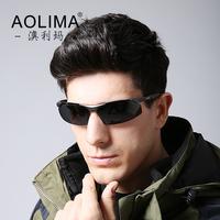 Authentic polarizer sunglasses male tide men sunglasses driver driving glasses polarizing sunglasses new movement