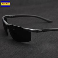Men sunglasses male tide sunglasses aluminum magnesium polarizer sunglasses motor driver to drive the new quality goods