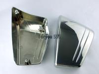 FREE SHIPPING Chrome Fairing Battery Side Cover For For 2002-2008 Honda VTX 1800 C VTX1800C Custom