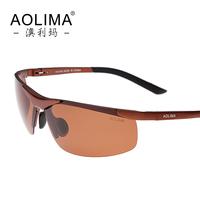 Aluminum magnesium men sunglasses polarizer movement hipster glasses driver driving glasses lens uv protection sunglasses