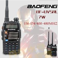 Free Shipping Hot Portable BAOFENG UV-5R Walkie Talkie 136-174/400-480Mhz Dual Band UHF/VHF Radio Interphone