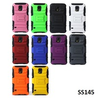 10pcs, Multi Colors, Plastic Silicone Combo Case for Samsung Galaxy S5 i9600 Hybrid Cover Shockproof, FREE SHIP