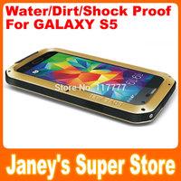 Original LOVE MEI Powerful Case for Samsung Galaxy S5 G900 i9600 Shockproof Dirtproof Water Resist