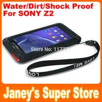 Original LOVE MEI Powerful Case for Sony Xperia Z2 L50w Shockproof Dirtproof Water Resist