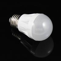 FREE SHIPPING new  E27 3W 10-SMD 2835 200 lumens 220V AC 6000-6500K  white light bulbs