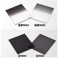 4pcs ND2 ND4 + Gradual ND2 ND4 filter set f cokin p