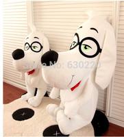 Hot sale Movie Stuffed Mr Peabody&Sherman Plush dolls 30cm Cute Peabody dog Animals Kids favorite toys Free shipping