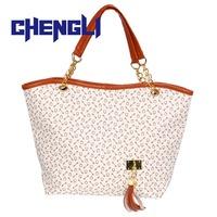 GB1052 Hot famous brand bag women handbag shoulder bag chains canvas tassel women messenger bag fashion tote