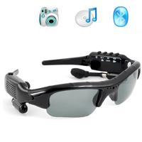 1.3MAGE Black Sunglasses Camera Mp3 Photo Taking Video Taking Bluetooth 8GB Sunglasses
