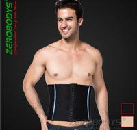 Adjustable Brand zerobodys waist belly men slimming shaper  tummy abdomen shapers corset  bodyshaper Three rows of buttons