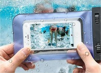 sealed Waterproof Durable Water proof Bag Underwater back cover Case For iPhone 5 5s 4 4s for touch 5 Pouch for galaxy s4/3