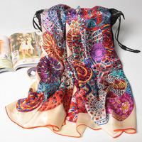 3 colors 180x70cm 124084 2014 Newest Women's 100% Silk scarf,100% Silk scarves, rectangle silk scarf, Free Shipping Muslim Hijab
