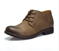 Hot Selling !!! Men's ankle boots Genuine Leahter shoes High Quality Fashion Men martin boots