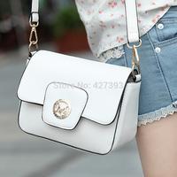 2014 new fashion vintage leather women shoulder bag  women's  small messenger  bag mini bags