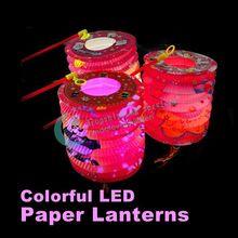 cheap paper lantern led