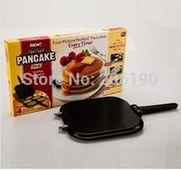 High quality 30pcs/lot Perfect Pancake Maker Pan Kitchen Egg and Cake Baking Perfect Pancake Cake Pan,pizza pan As seen on TV