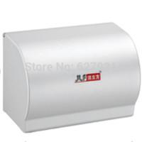 Roll box fashion bathroom tissue box alumina toilet paper box waterproof paper towel holder