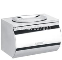 Waterproof toilet paper box package stainless steel tissue box belt soap dish belt ashtray bathroom roll box