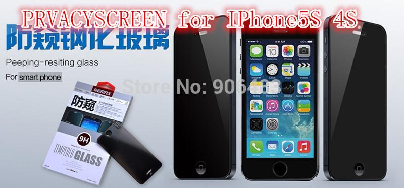 Защитная пленка для мобильных телефонов Iphone5S 4S Remax Iphone5S PRVACYSCREEN HK чехлы для телефонов remax чехол силиконовый apple iphone 7 4 7 remax waves синий