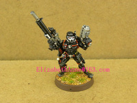 Free Shipping 40K models Grey Knights Vindicare Assassin with Exitus Pistol(Metal Models)