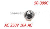 250VAC 16A 400VAC 10A 50-300C Temperature Control Capillary Thermostat