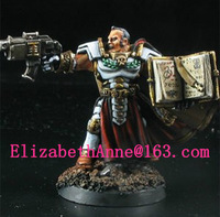 Free Shipping  models Grey Knights Inquisitor with Grimoire(Metal Models)