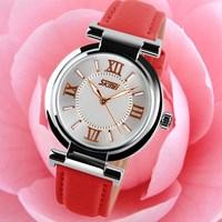2014 New Brand New Skmei Women's Fashion Watches Casual Modern Wristwatches Leather Strap Dress Sports Quartz Movement Hot sale