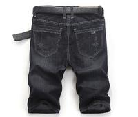 Hot sale 2014 summer fashion denim brand shorts men's personality cool short jeans pants high quality designer big size 28~46