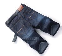 Free Shipping 2014 men's fashion short jeans shrots men sale autumn clothes Button fashion brand designer pants big size 28~46