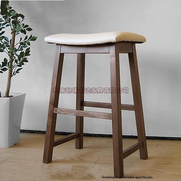 Massief houten meubelen eetkamer kruk kruk stoel banken eiken meubelen moderne minimalistische - Modern eetkamer model ...