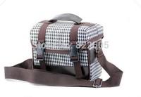 Deluxe DSLR Camera Shoulder Bag case Photo Video Gadget Bag for Nikon J1 J2 V1 V2 DSLR D90 D3200 D3100 D5200 D5100 D5000 D3000
