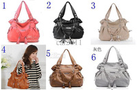 Wholesale - 2014 New Fashion Style Women's PU Leather Handbag With MB-447